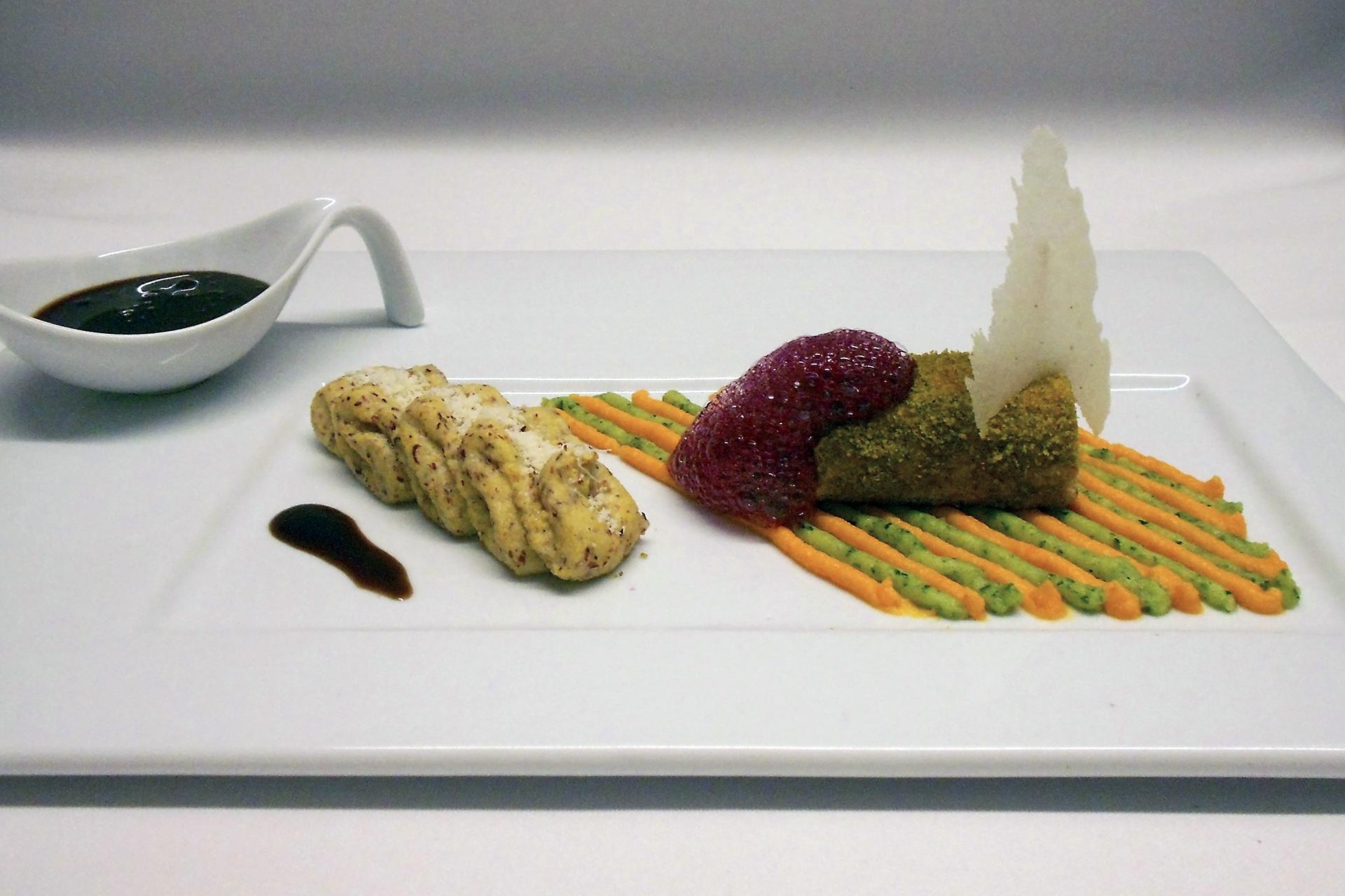 Pürierte Kost für Gäste mit Schluckstörung