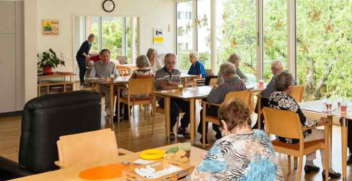 Tertianum Wohn- und Pflegezentrum Papillon, Demenzpflege und Aktivitäten im Alter