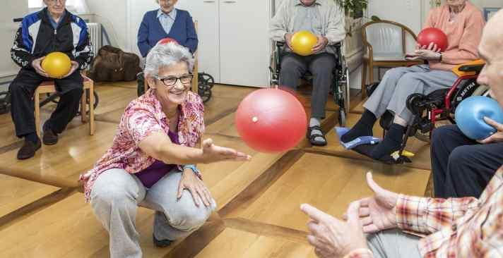 Tertianum Wohn- und Pflegezentrum Zedernpark Aktivitäten und Selbstbestimmt leben im Alter