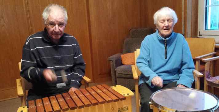 Tertianum Wohn- und Pflegezentrum Papillon, Aktivitäten für Senioren mit Demenz - Demenz pflege und Psychogeriatrische Pflege