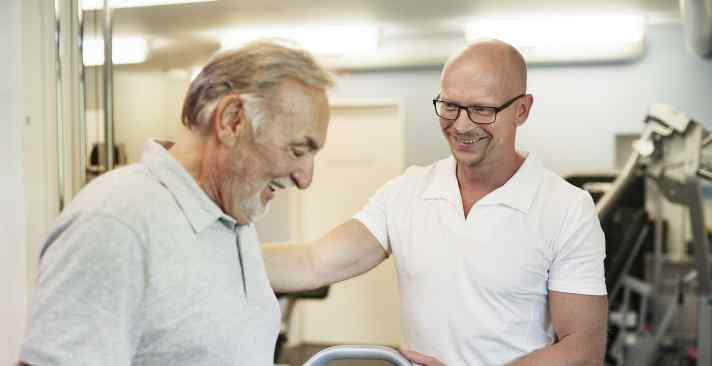 Tertianum Wohn- und Pflegezentrum Im Lenz Rehabilitation für Senioren, Bewegungseinschränkung im Alter
