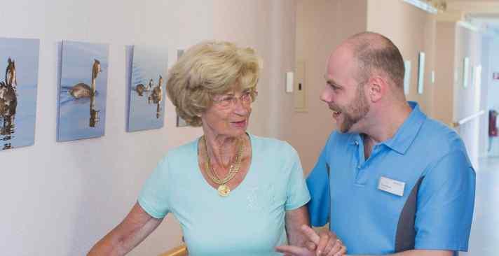 Tertianum Kurz- und Langzeitpflege im Alter, Pflegezimmer für Senioren
