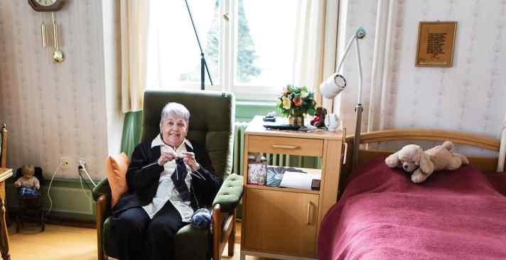 Tertianum Wohn- und Pflegezentrum Schloss Berg, Wohnungen für Senioren, Probewohnen in Altersheim