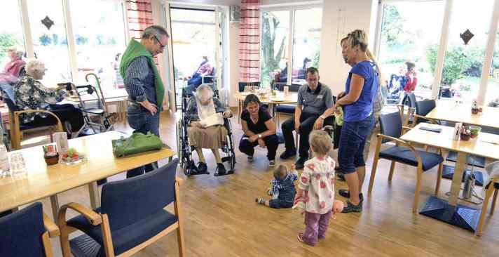 Tertianum Wohn- und Pflegezentrum Villa Sarona, familiäre Alterswohnungen für Senioren