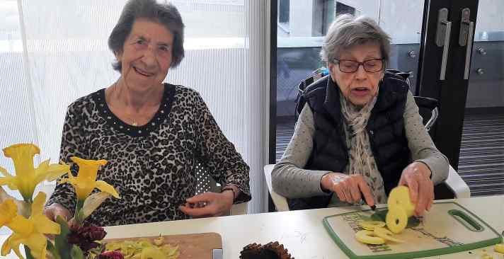 Tertianum Centre de logement et de soins La Jardinerie, rester active à tout âge