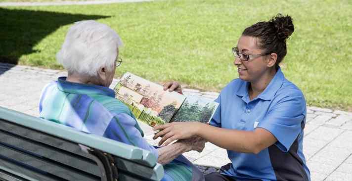 Tertianum Wohn- und Pflegezentrum Neutal, Psychogeriatrische Pflege und Demenz Pflege für Senioren