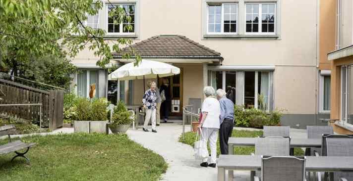 Tertianum Wohn- und Pflegezentrum Papillon, Psychog-eriatrische -, Demenz-, Kurzzeit- und Entlastungspflege