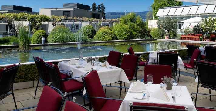Terrassenrestaurant; Seerestaurant; Restaurant; Meilen; Zürichsee; Tertianum; Parkresidenz;  Fine Dining;