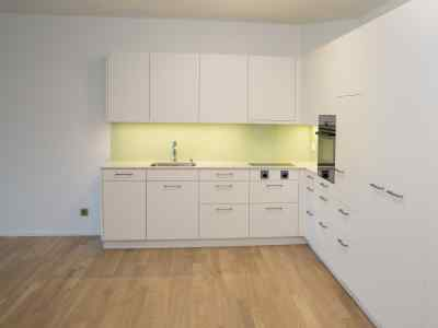 Tertianum Parkresidenz Meilen - Wohnen im Alter - Wohnen mit Services - Moderne Küche 2 Zimmer Appartement